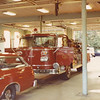 Former Manchester, Ct Engine 2 in quarters with Car 2 in  front of it
