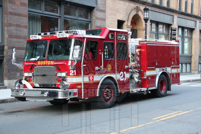 Boston, Ma. Engine 21