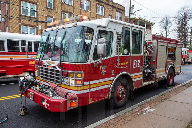 Hartford, Ct Engine 12 (spare)
