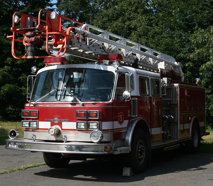 Former Manchester, Ct Fire Rescue EMS Engine 5