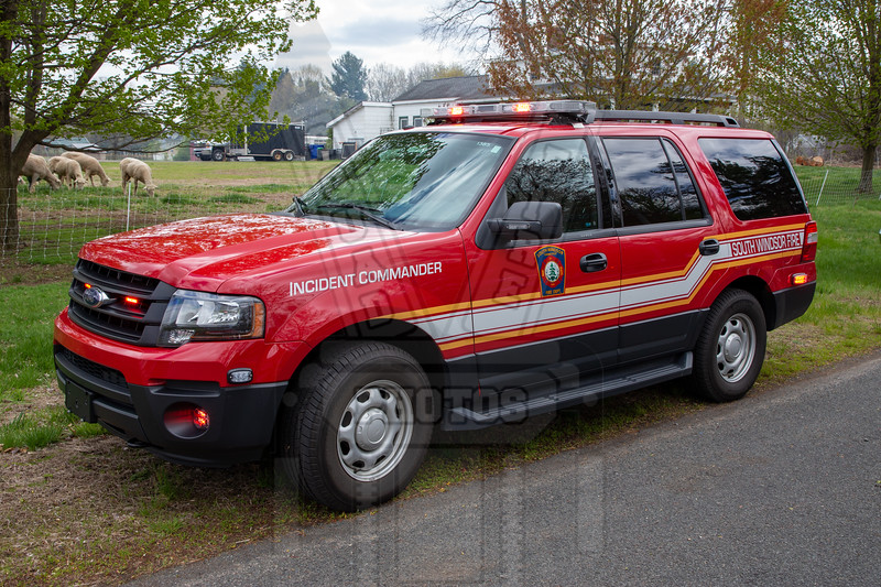 South Windsor, Ct Incident Commander Car