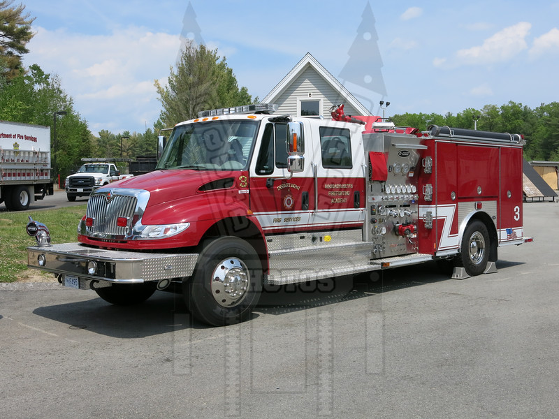Massachusetts Fire Academy Engine 3