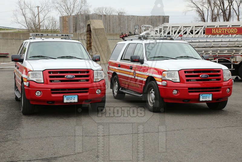 Hartford, Ct District 1 and District 2. These are the on duty Deputy Chiefs.