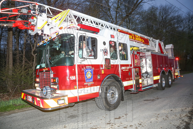 Jewett City (Griswold, Ct) Ladder 156