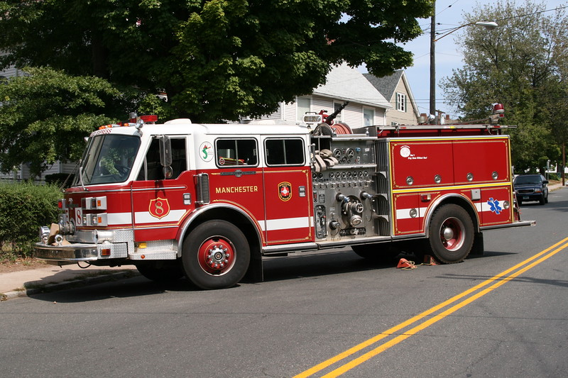 Manchester, Ct Fire Rescue EMS Engine 8 (spare)