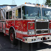 Lynnfield, Ma Ladder 1. This rig was originally purchased by East Hartford, Ct for their Ladder 1. East Hartford never put the rig in service and it was then purchased by Lynnfield, Ma