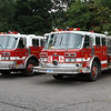 Former twins from Manchester, Ct. Finished their careers as Engine 7 and Engine 8 (spares)