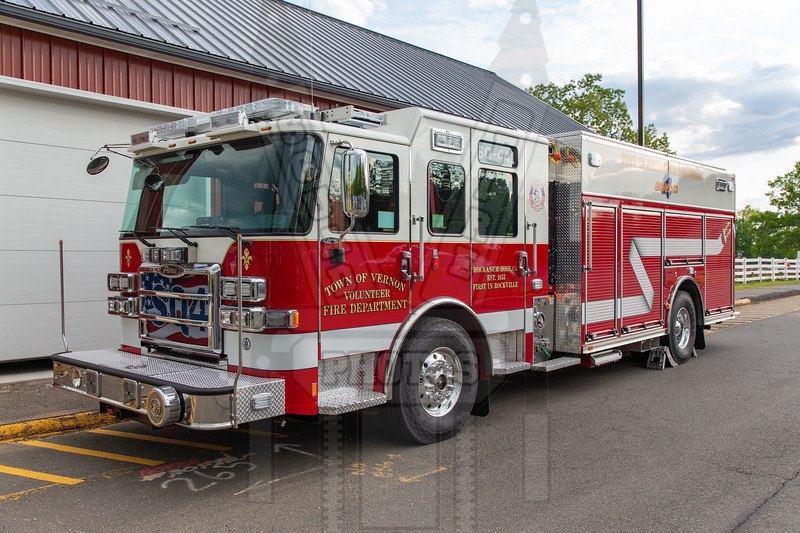Town of Vernon, Ct Squad 441. (Not in service at time of picture 5/17/21)