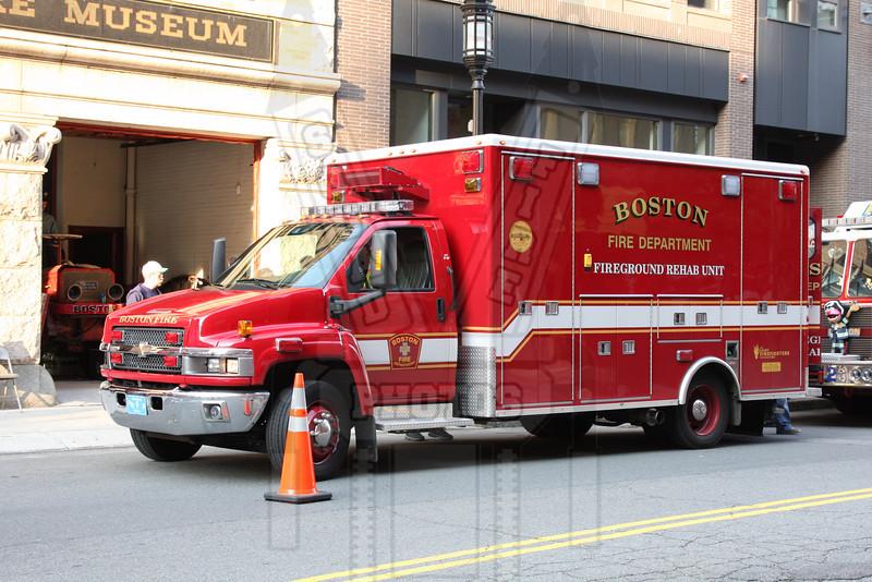 Boston W-25 Fireground Rehab Unit