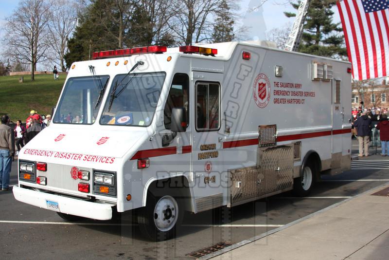 Hartford, Ct area Salvation Army Canteen Car 11