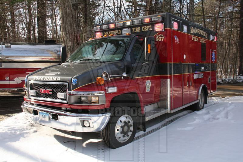 Mansfield, Ct Ambulance 507