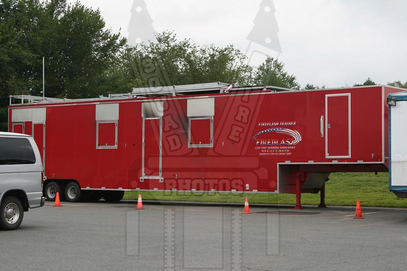 Ellington, Ct FD training trailer