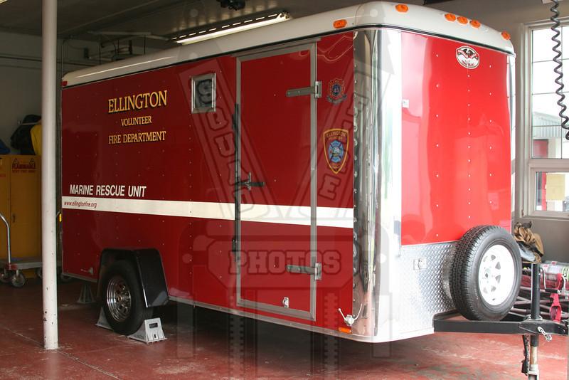 Ellington, Ct Marine Rescue trailer