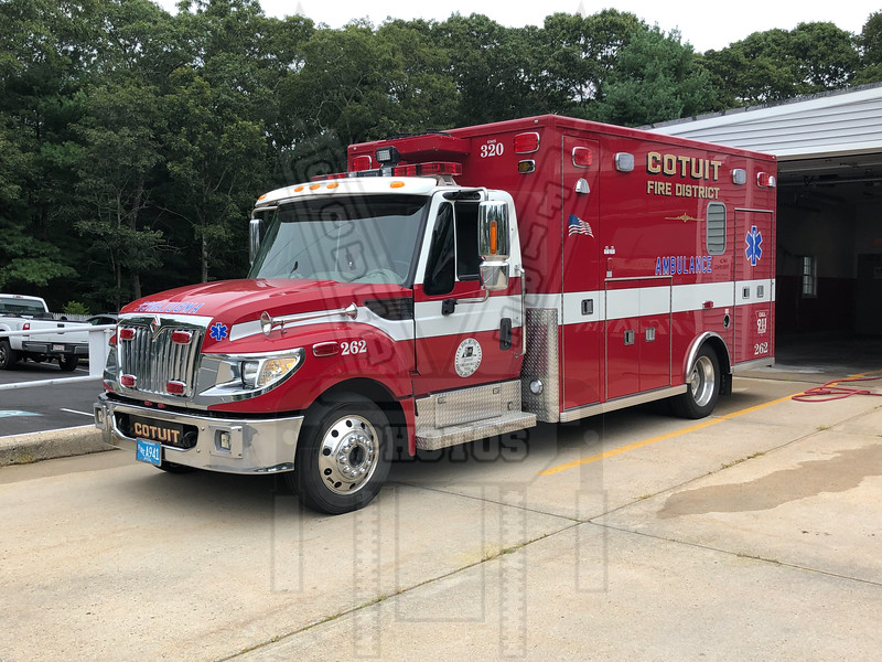 Cotuit Ambulance 262 (Barnstable, Ma.)