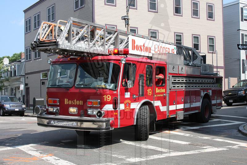 Boston, Ma. Ladder 19