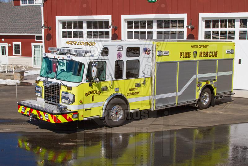 Coventry, Ct (North Coventry FD) Rescue 111