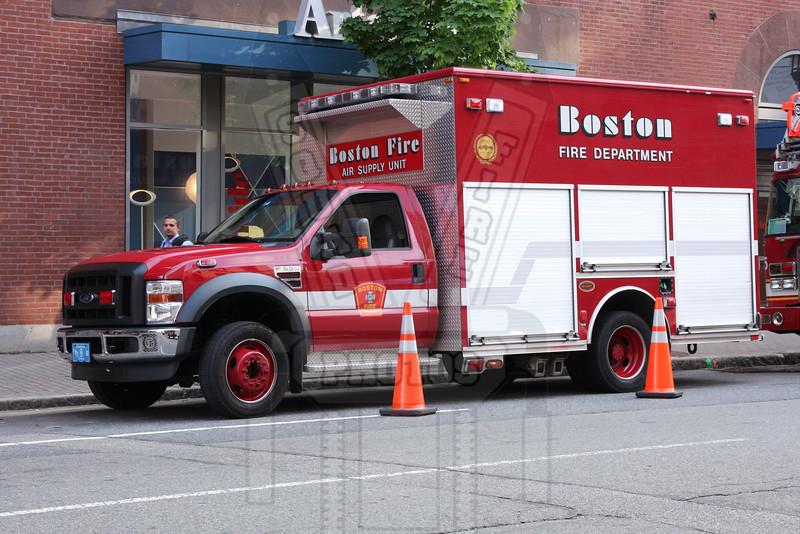 Boston W-12 the Air Supply Unit.