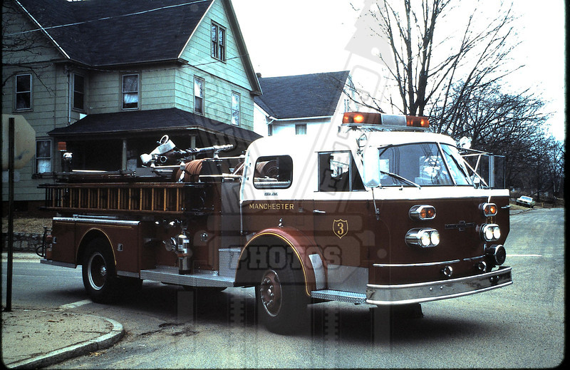 Former Manchester, Ct Fire Rescue EMS Engine 3