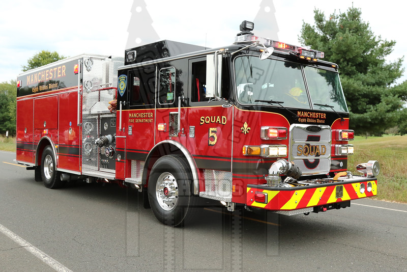 8th District FD (Manchester, Ct) Squad 5