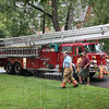 Wethersfield, Ct Truck 12. Picture was taken on 9/11/09 at a W/F in a garage. I was told this truck will be replaced with a new Tower a couple of days after this picture.
