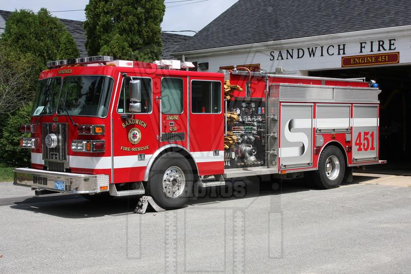 Sandwich, Ma. Engine 451