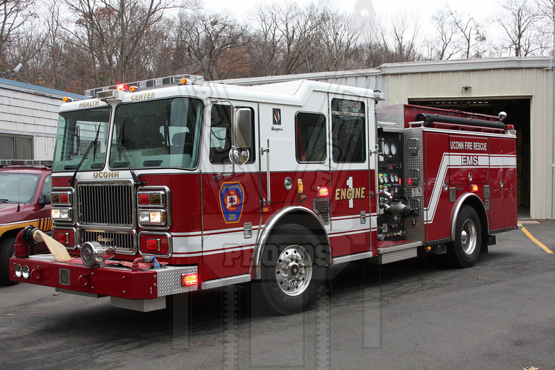 Engine 1 Uconn Health Center FD (Farmington, Ct)