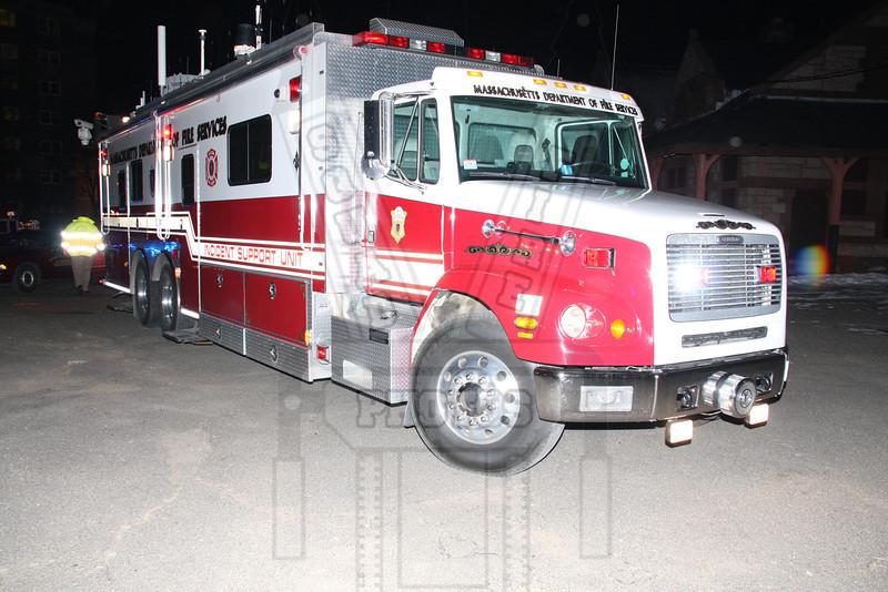 Massachusetts FD incident support unit.