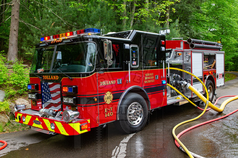 Tolland, Ct ET140 First fire since coming back from a complete refurb. 6/3/21