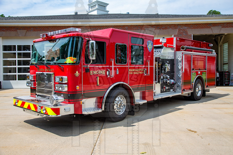 Manchester, Ct (8th District FD) Engine 1