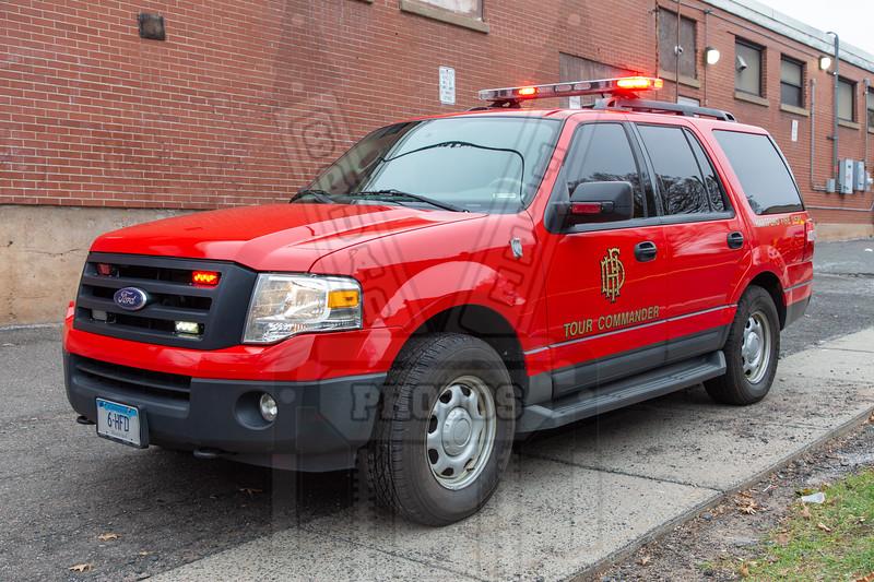 Hartford, Ct Car 6 (Deputy Chief Tour Commander)
