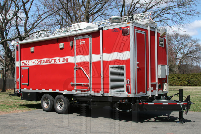 State of Connecticut Mass Decon Unit. This unit is assigned to Manchester, Ct Fire Rescue EMS Dept.