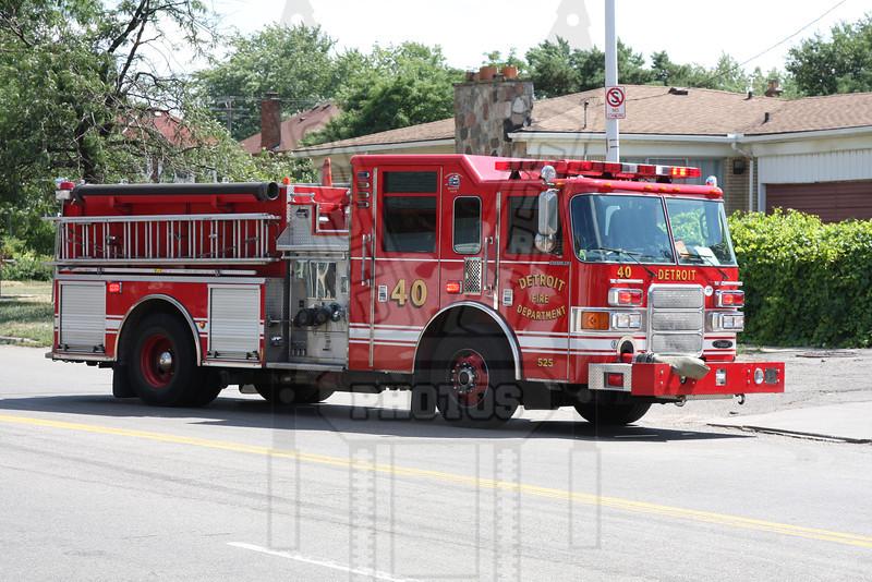 Detroit, MI Engine 40