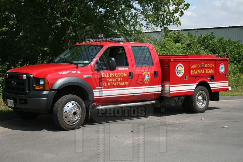 Ellington, Ct Rescue 343 / Ct. Haz Mat Unit 32