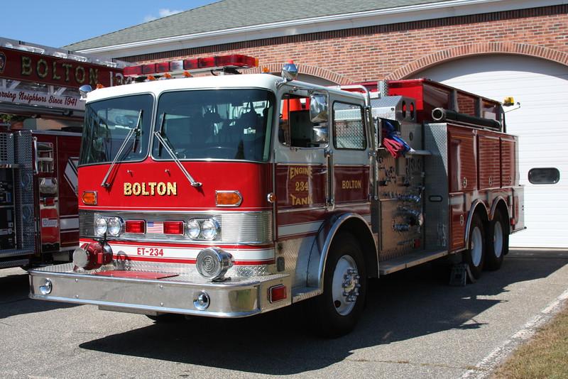 Bolton, Ct Engine/Tank 234