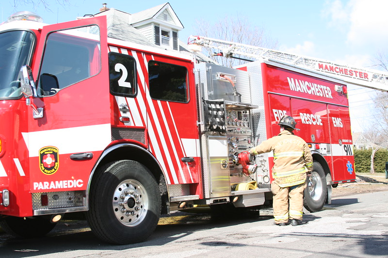 Manchester, CT Fire Rescue EMS Engine 2