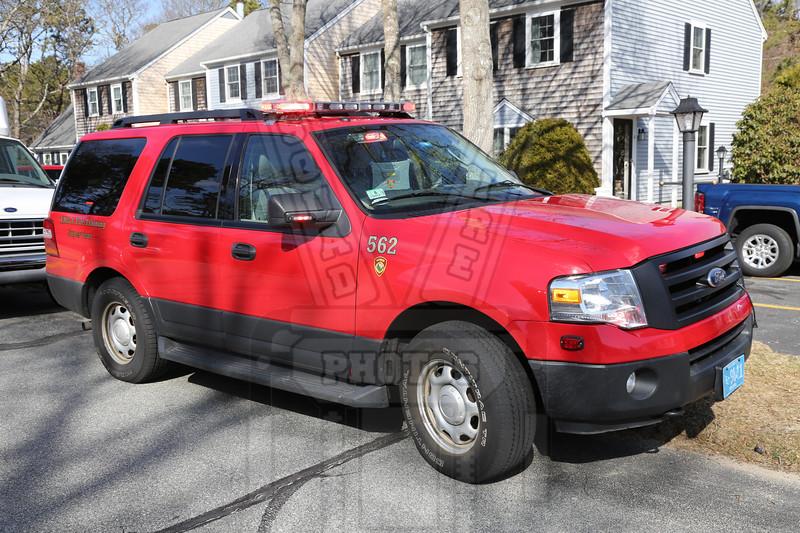 Yarmouth, Ma. Training officers Car 562