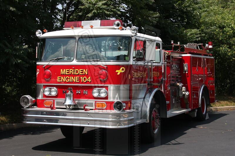 Meriden, Ct Engine 104 (spare)