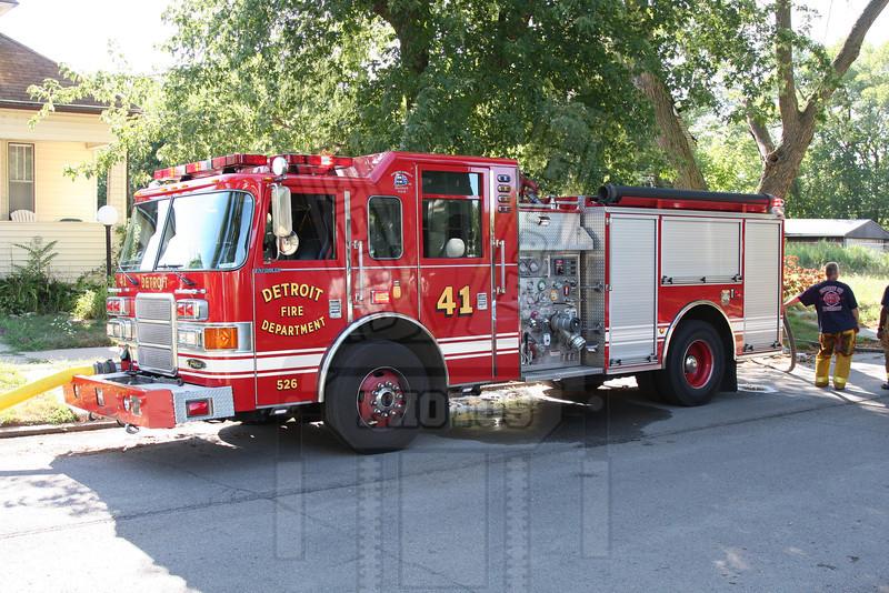 Detroit, MI Engine 41