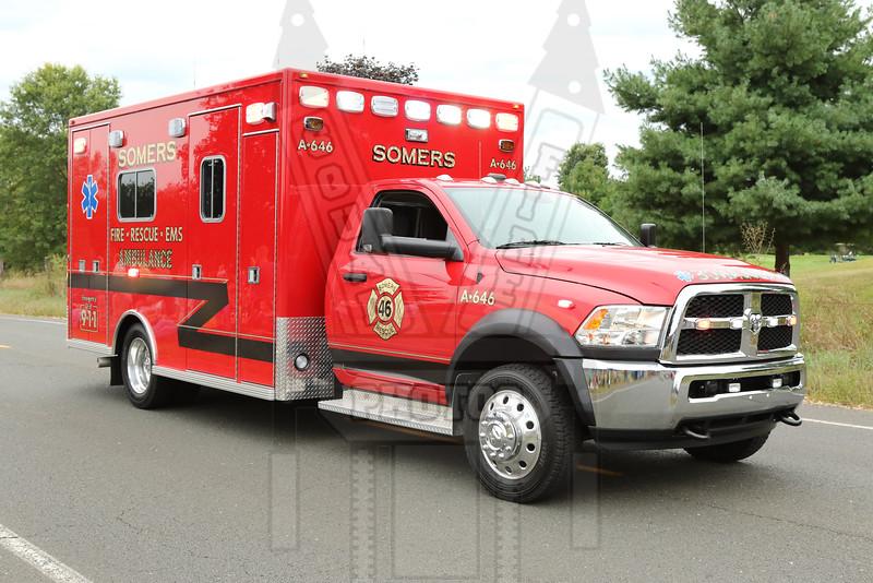 Somers, Ct Ambulance 646