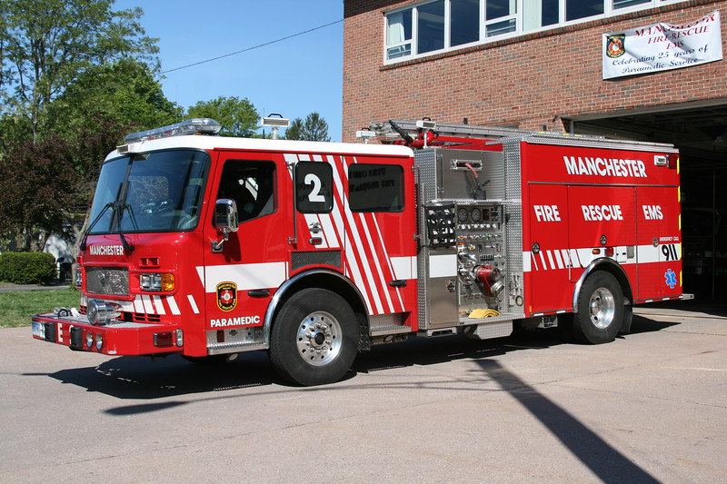 Manchester, Ct Fire Rescue EMS Dept. Engine/Medic 2