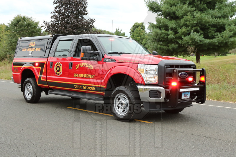 Stafford, Ct Service 245. Duty officer
