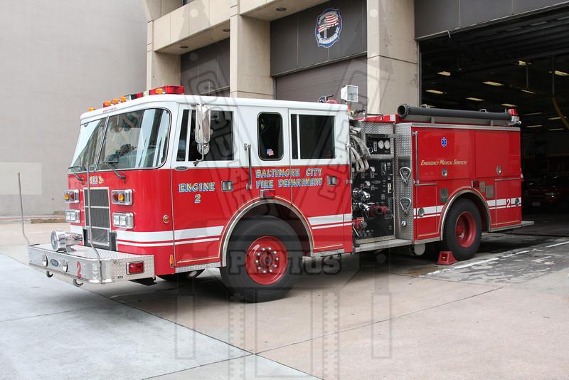 Baltimore, Md. Engine 2