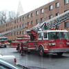 East Hartford, Ct Ladder 2 in back round and Tower 1. Tower 1 is now known as Ladder 3 and a spare