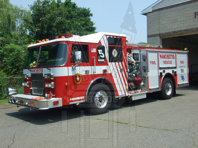 Manchester, CT Fire Rescue EMS Engine 5