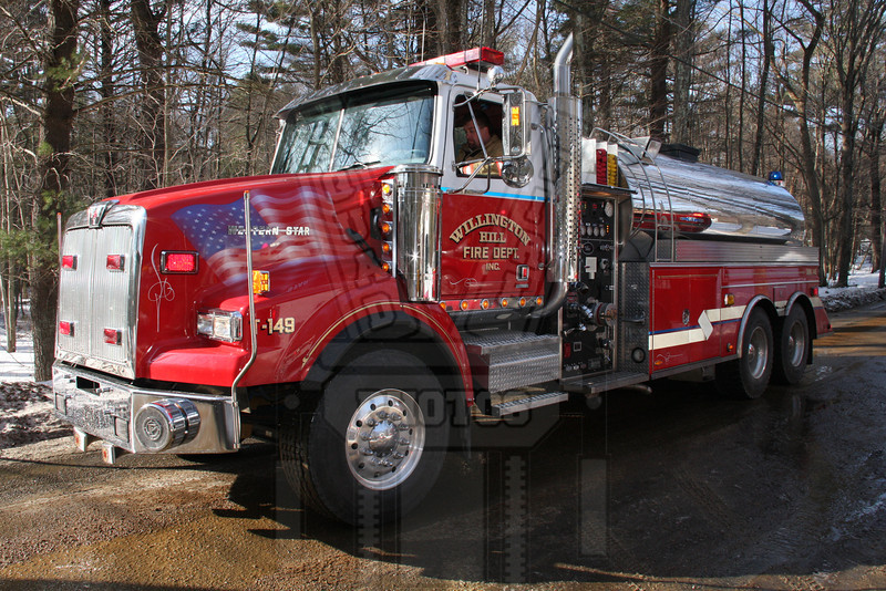 Willington Hill ( Willington, Ct ) Tanker 149