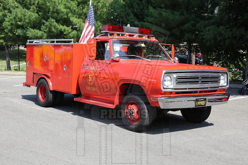 Emergency TV show Squad 51 replica
