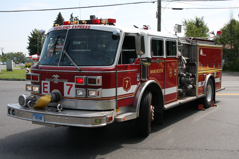 Manchester, Ct Fire Rescue EMS Engine 7 (spare)