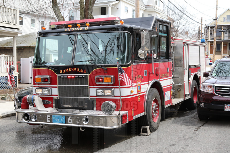 Somerville, Ma. Engine 6