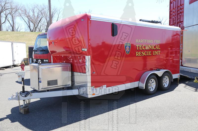 Hartford, Ct Technical Rescue trailer