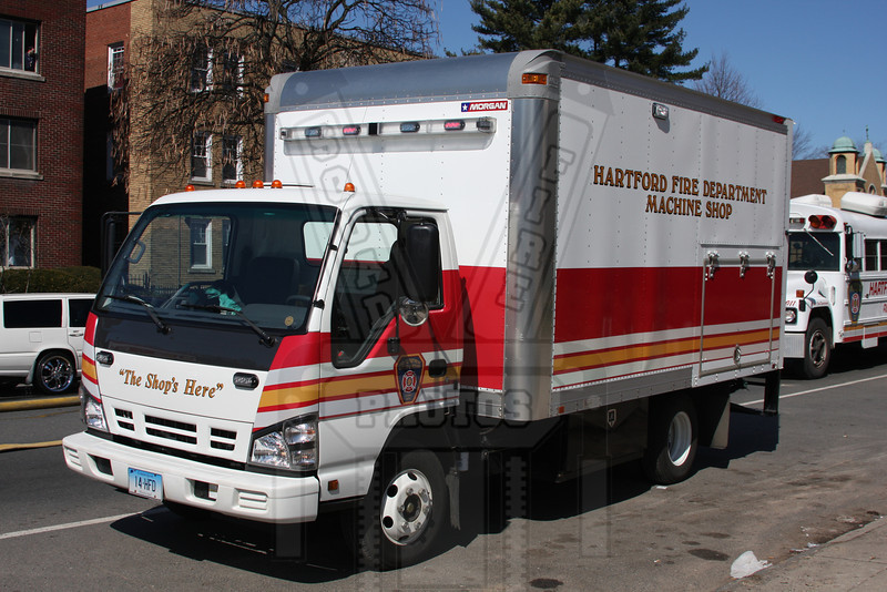 Hartford, Ct FD mechanics truck